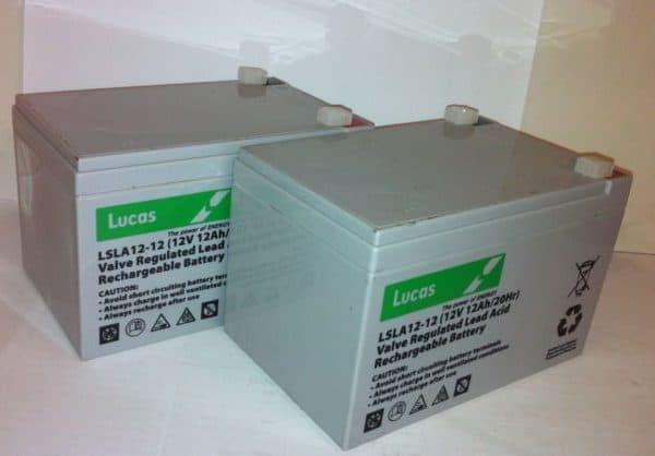 CTM Homecare HS-120 Batteries